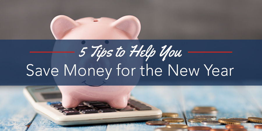 5 Tips to Help You Save Money for the New Year Blog Banner