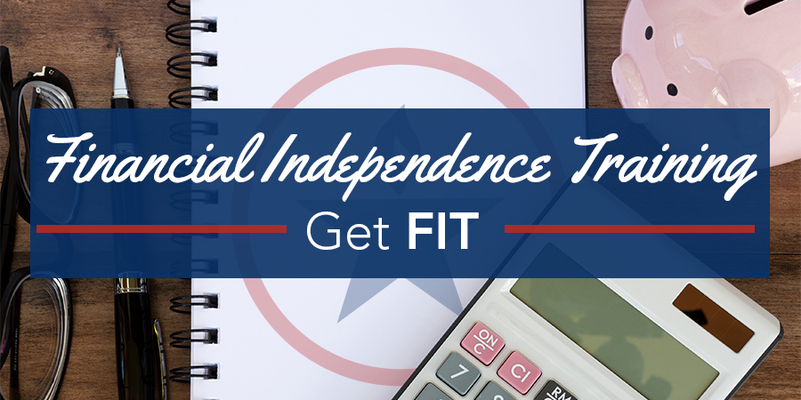 Financial Independence Training - Get Fit Title Image