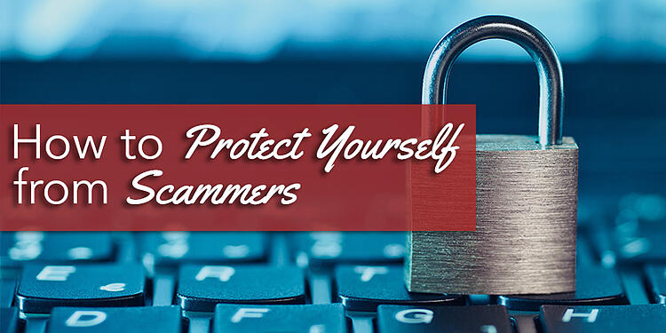 How to protect yourself from scammers 900x450